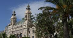 Ultra HD 4K Monte Carlo Casino gamble, gambling, luxury, rich, expensive, money Stock Footage
