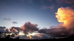 Tropical Sunrise, Sunsets, Clouds time lapse - CLIP 2 - stock footage