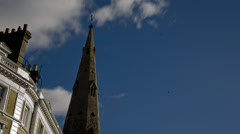 Time Lapse Gloucester church Stock Footage