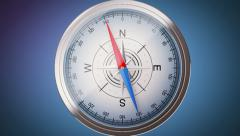 Compass Stock Footage