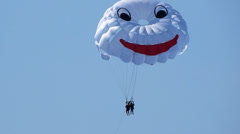 Paragliding 3 Stock Footage