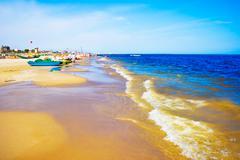 Rimini Beach - stock photo