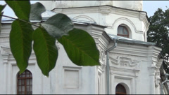Ancient Orthodox churches Stock Footage