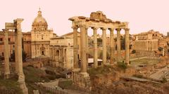 Foro Romano Stock Photos