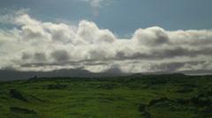 Moving clouds timelapse thingvellir (Þingvellir) national park in iceland Stock Footage