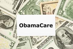 Obamacare käsite Kuvituskuvat