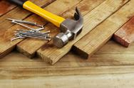 Stock Photo of carpentry still life