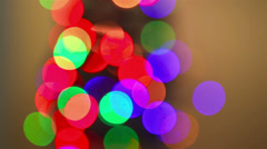 Colorful abstract lights background Stock Footage