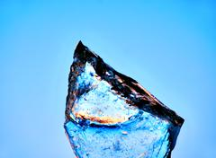block of ice - stock photo
