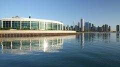 Shedd Aquarium - Chicago City - stock footage