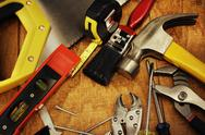 Stock Photo of work tools