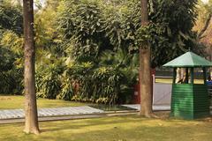 Place where indirha gandhi was killed, indira gandhi memorial museum, new del Stock Photos