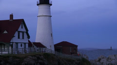 Portland Head Lighthouse Stock Footage