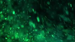 Changing Color Particles Stock Footage