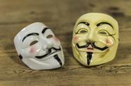 Stock Photo of Anonymous mask
