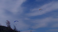 Paragliding 6 Stock Footage