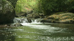 Tallulah River 14 Stock Footage