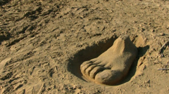 Beach - Big Foot Stock Footage