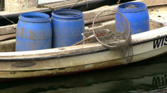 Fishery boat Stock Footage