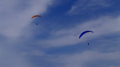 Paragliding 8 Stock Footage
