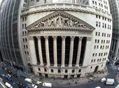 Usa, nyc, new york stock exchange from top Stock Photos