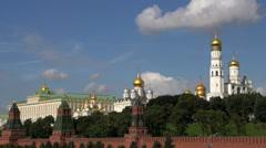 Kremlin time lapse Stock Footage