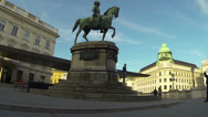 Stock Video Footage of Albertina in Vienna