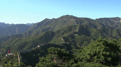 The Great Wall landscape Stock Footage