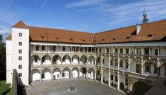 Castle and palace of the dukes in brzeg, poland Stock Photos