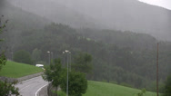 Stock Video Footage of heavy rain