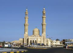 mosque, hurgada, egypt - stock photo