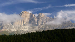 Dolomites, Italian Alps Stock Footage