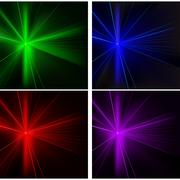 Laser Rays Set Stock Illustration