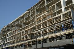 Condo construction Stock Photos