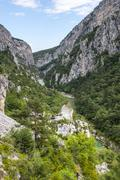 gorges du verdon - stock photo