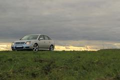 Stock Photo of Car On Nice Sundown Horizon Background 2