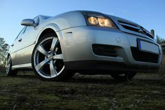 Stock Photo of Car Close-Up - Opel Vectra GTS