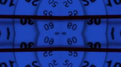 Watch and clock macro 4k Stock Footage