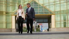 Business activity Stock Footage