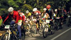 Explorer MTB Challenge Stock Footage