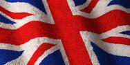 British flag - fluffy Stock Photos