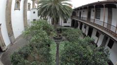 Cathedral Santa Ana in Las Palmas de Gran Canaria Stock Footage