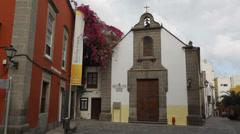 Ermita de San Antonio Abad, Las Palmas Stock Footage