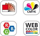 Stock Illustration of Color CMYK Icon Set