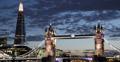 Ultra HD 4K Illuminated Night Lights Tower Bridge London Skyline Shard High Rise 4k or 4k+ Resolution