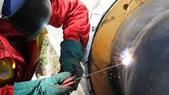 Arc welding Stock Footage