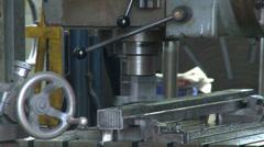 Workshop Machine Stock Footage
