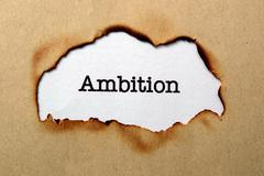 Ambition concept Stock Photos