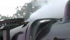 Steam Train Whistle, Iso Audio & Steam Arkistovideo
