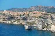 Stock Photo of Beautiful old village of Bonifacio (Corsica island, France)